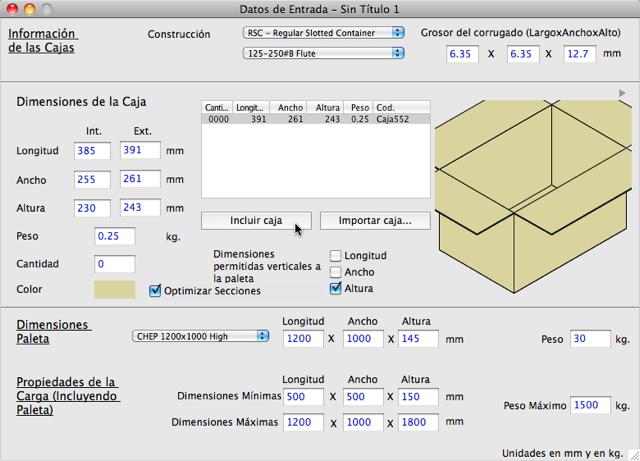 Koona software ejemplos de quick pallet maker - Pallets por contenedor ...