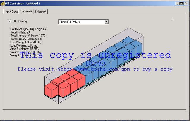 Quick Pallet Maker Examples - Packaging Software