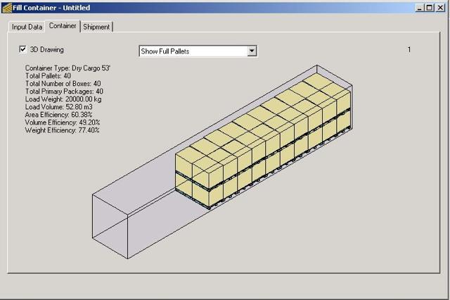 Koona software quick pallet maker examples - Pallets por contenedor ...