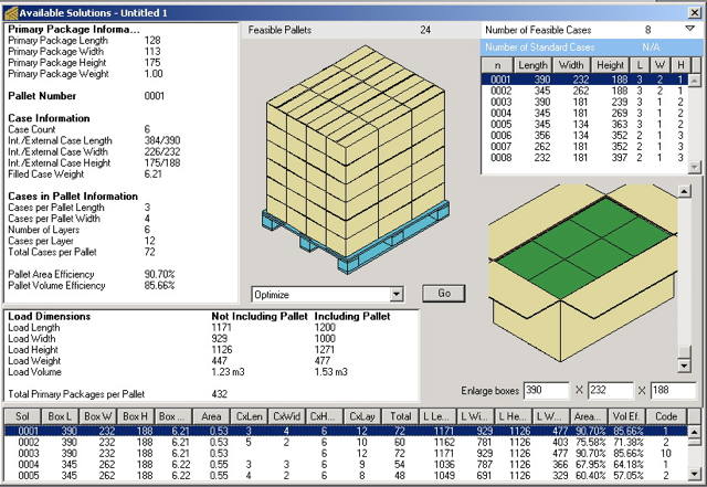 Koona software quick pallet maker examples pallet and box ccuart