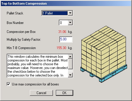 Koona software quick pallet maker examples box compression strength ccuart Gallery