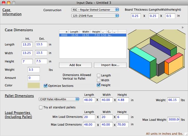 Koona Software - Quick Pallet Maker Examples